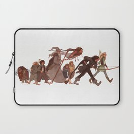 Hope remains, if friends stay true Laptop Sleeve