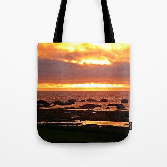 Stunning Orange Sunset Tote Bag
