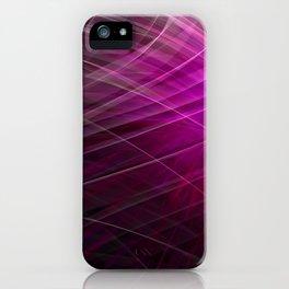 Linear Pattern-Purple iPhone Case