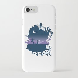 Sophie and Calcifer iPhone Case