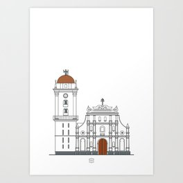 Catedral de Caracas Art Print