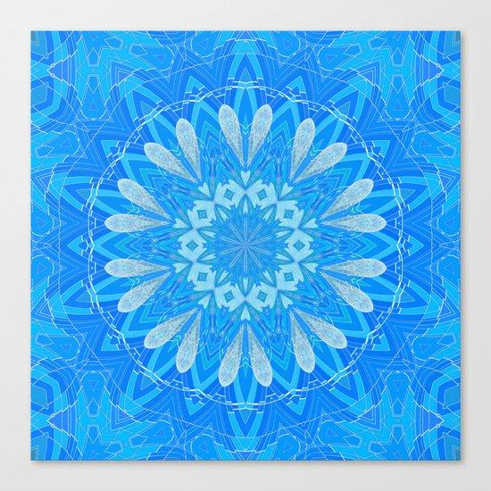 Bella Blue Canvas Print