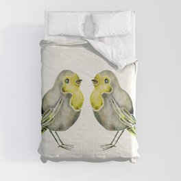 Little Yellow Birds Comforters