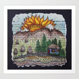New Sunrise Art Print