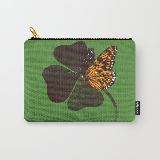 By Chance - Green Carry-All Pouch