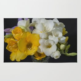 Cupertino's Fragrant Freesias Rug
