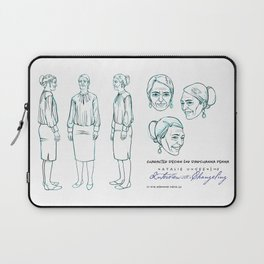 Darshanna Penna Character Design I Laptop Sleeve
