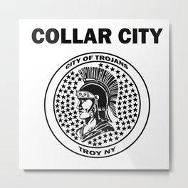 Collar City Metal Print