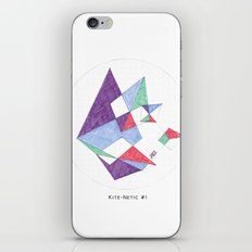 Kite-netic #1 iPhone & iPod Skin