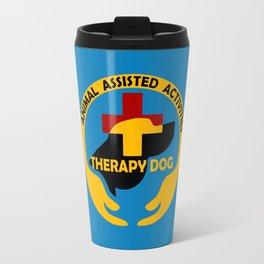 Animal Assisted Activities  - THERAPY DOG logo Travel Mug