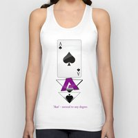 ace Tank Tops featuring Ace by drQuill
