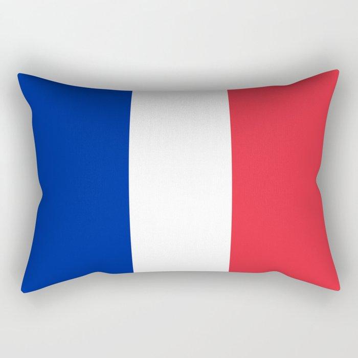 Flag of France, HQ image Rectangular Pillow