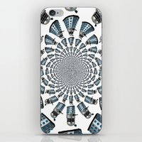 dalek iPhone & iPod Skins featuring Dalek by Natasha Lake