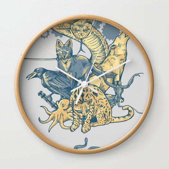 Shadow Moses Wall Clock