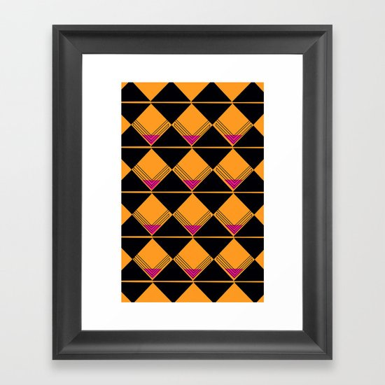 Scotch on the Rox Framed Art Print