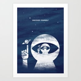 Discover Yourself Art Print