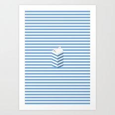 SPLIT MILK Art Print