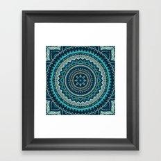 Hippie Mandala 16 Framed Art Print