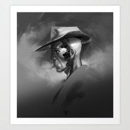 nick valentine — atmos Art Print