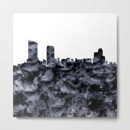 Grand Rapids Skyline Michigan Metal Print