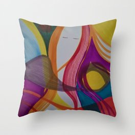 Reflection of Me Throw Pillow
