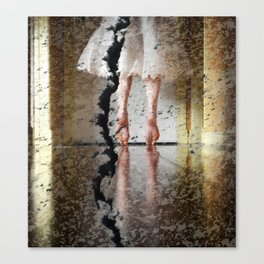 Don't Step on the Crack Canvas Print