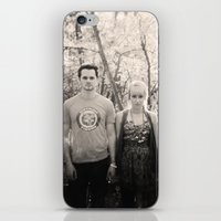 boyfriend iPhone & iPod Skins featuring Boyfriend, Girlfriend. by Carissa Leigh