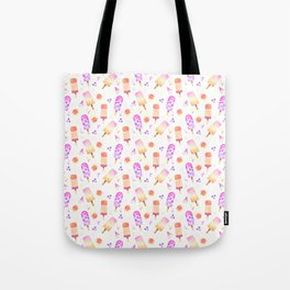 Popsicles | Ice Lolly | Ice Cream | Summer | Fruit Tote Bag
