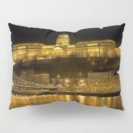 Budapest Golden Night Pillow Sham