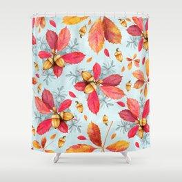 Autumn leaves #31 Shower Curtain