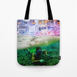 Nightswimming Tote Bag