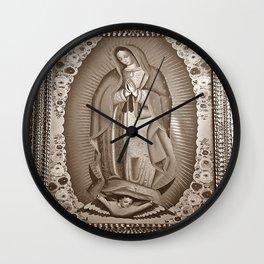 La Virgensita (Antique) Wall Clock