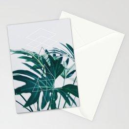 Botanic geometry Stationery Cards