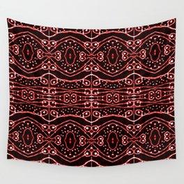 Tribal Ornate Geometric Pattern Wall Tapestry