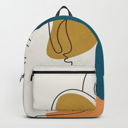Abstract Faces 26 Backpack