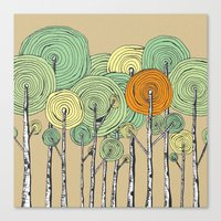 fall Canvas Prints featuring Fall by Chris Gregori