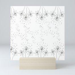 Magical flowers 2 Mini Art Print