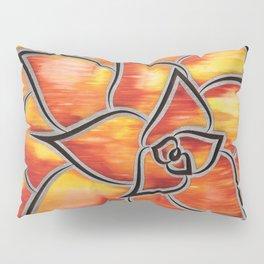 Fire Succulent Pillow Sham