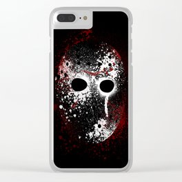 Happy Friday the 13th Clear iPhone Case