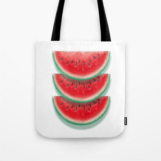Slices of watermelon Tote Bag