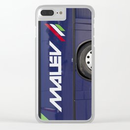Malev Airlines Clear iPhone Case