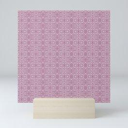 Linnea borealis stem pith rose Mini Art Print