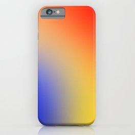 Primary Colors Gradient iPhone Case