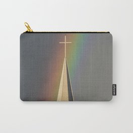 Rainbow & Steeple (Just outside my window) Carry-All Pouch