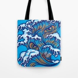 Spirit of the waves Tote Bag