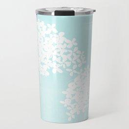 Queen Anne's Lace Blue Travel Mug