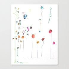 Floral Fall Canvas Print