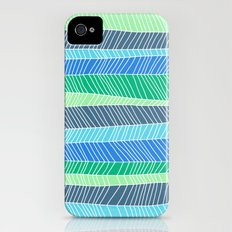 Beach Stripe (Cool) iPhone (4, 4s) Slim Case
