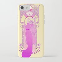 princess bubblegum iPhone & iPod Cases featuring Princess Bubblegum by NicoleGrahamART