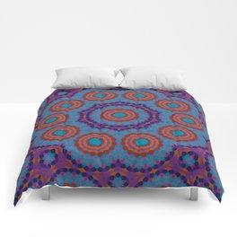 Mosaic Mandala Comforters